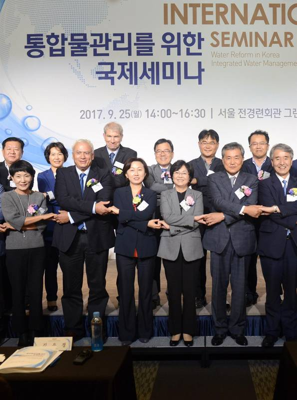 Consultant to the Korean Government - Water Systems Management & Organization + Seminar on Water Topics September 2017