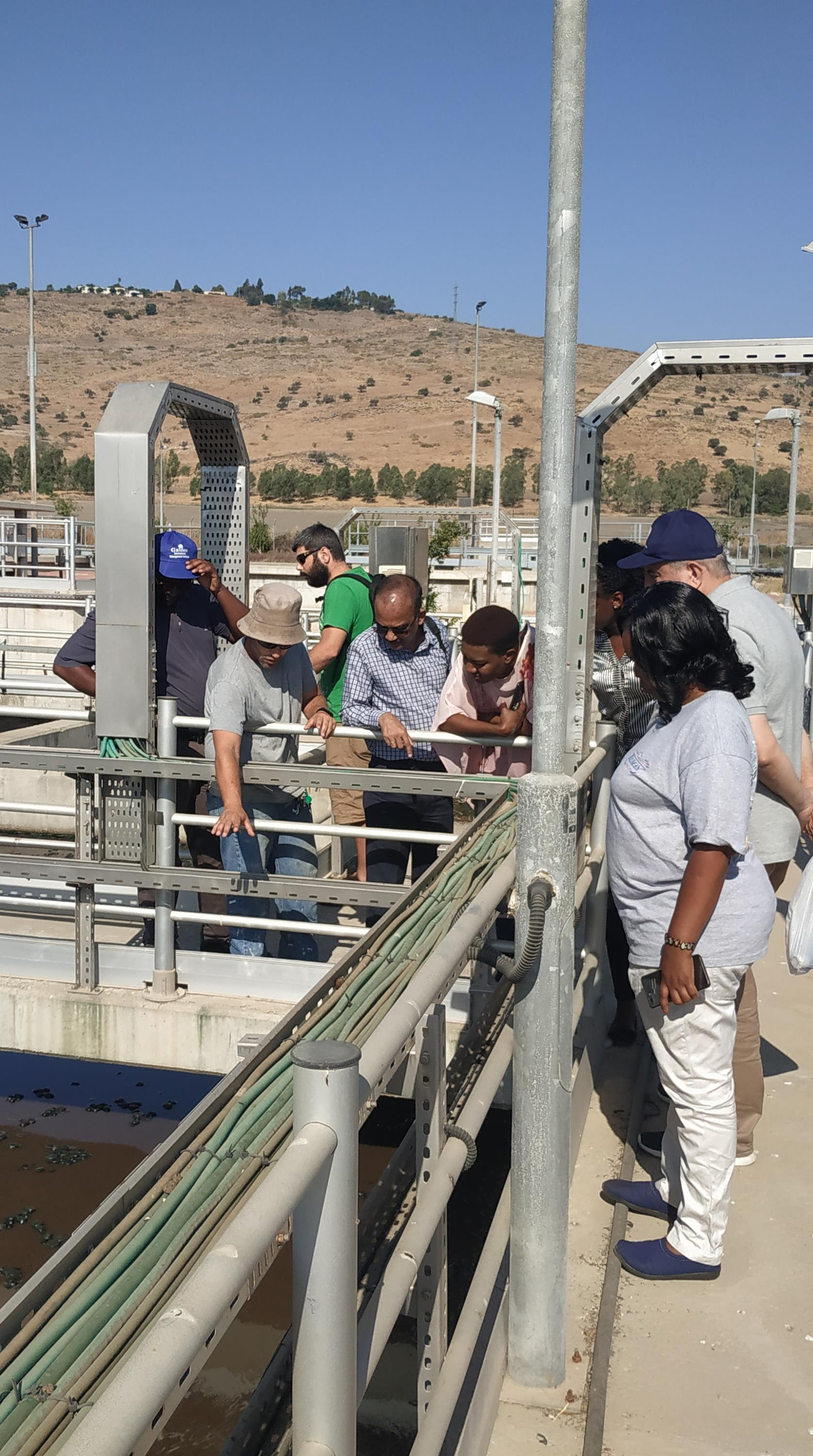 Integrated Water Resources Management course, Effluent treatment facility, Galilee I. 10-23 Sep. 2019