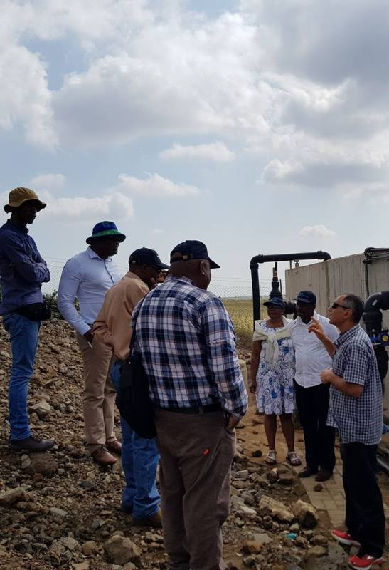 Water Reservoirs and Regional Water Management-course for Irrigation Technologies for Ministry of Agriculture and Food Security, Lesotho 14.5.18