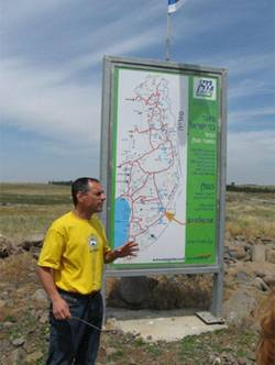 9.9.12 - A water sources tour in the Golan Heights