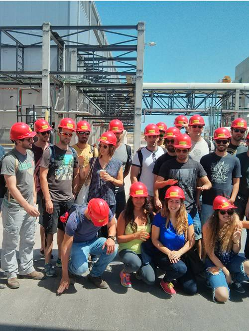 Site Tour in a desalination plant for undergraduate students at Sustainability studies  at the Interdisciplinary Center in Herzliya