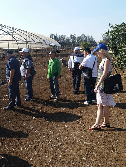 Professional water tour for a course of innovation in agriculture - The Israeli Technology