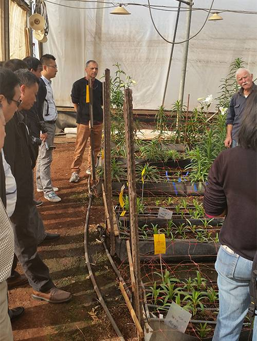 Course for Israeli Dry Farming Agriculture and Water Saving Technology.