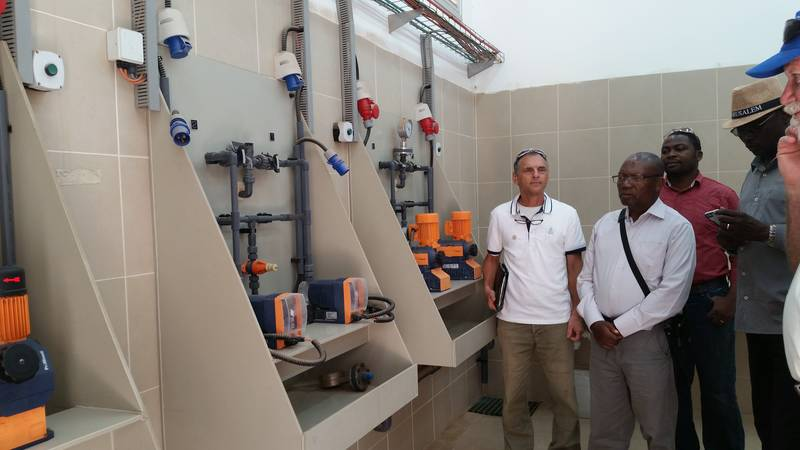 Water Resources tour - the Jordan Valley Water Association