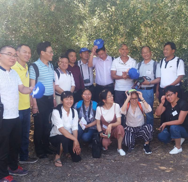 An agricultural course Galilee College for researchers from Yunnan Province in China 28/6/17