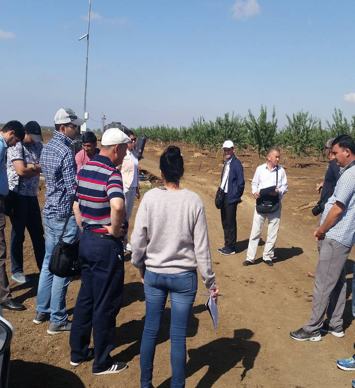 Drinking and Agriculture Water in the Jordan Valley & Water Agreements with Jordan for Water experts-Turkmenistan 22/11/17