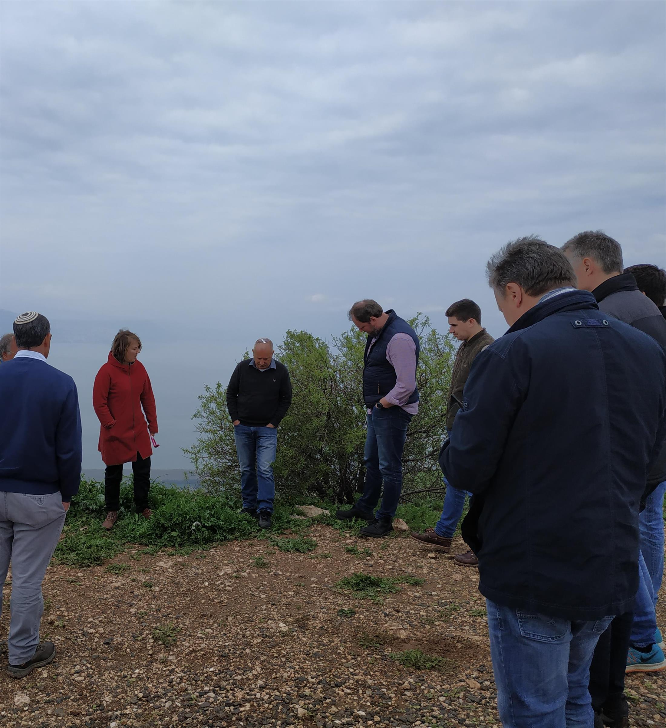 Water and agriculture tour in the Golan - growers and suppliers Carrot from Germany, 3.3.19