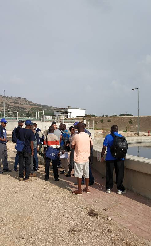 Study tour to - Extensive Water Treatment plant, Management of Regional Agri.&Drinking Water and Experimental Research 21.10.18