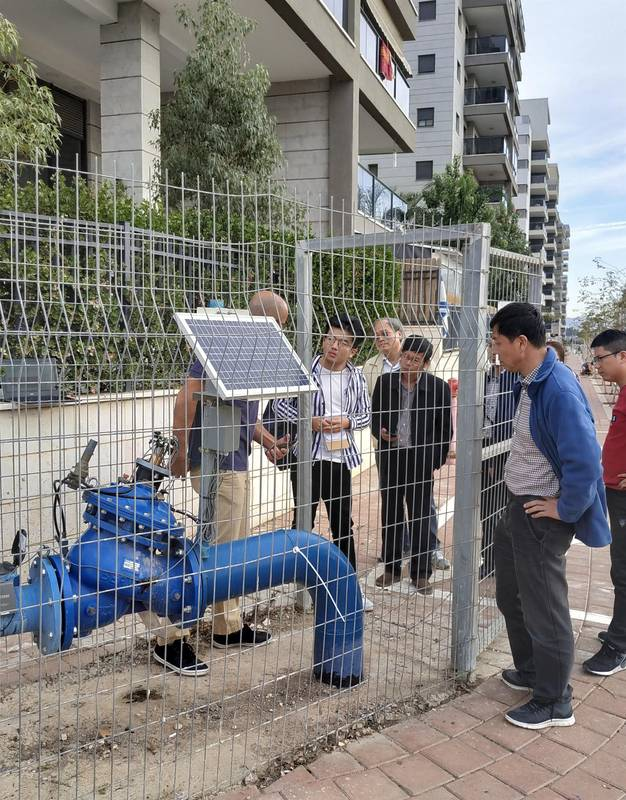 Advanced urban water systems Afula Water Corporation for Vered Hasharon travel - 18.11.18