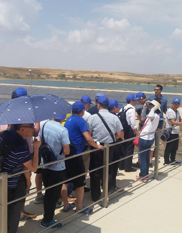 Israel's Efficient Use of Water Resource course 3-15.6.18 Galilee College