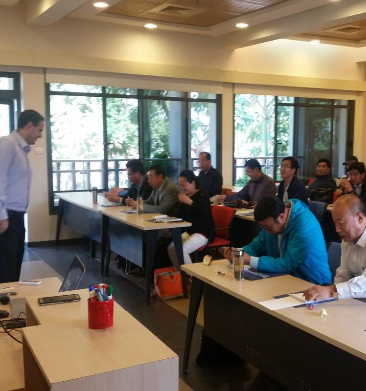 Israel Modern Facility Water&Agriculture and Cultivation Technical Training Programme for Qinghai 8/11/17