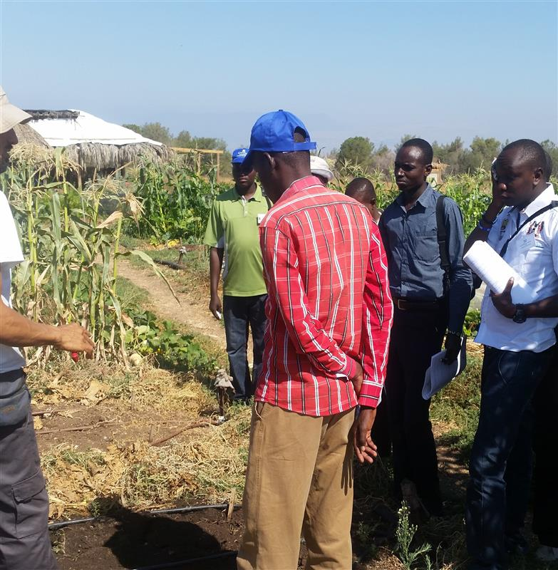 Integrated Water Resources Management , Irrigation and Agriculture for Water Engineers and Agriculture from Turkana - Kenya 5.7 to 4.8 2017 - Galilee College - Nahalal